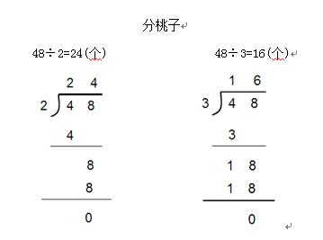 小学数学教师资格面试—《分桃子》教案图片
