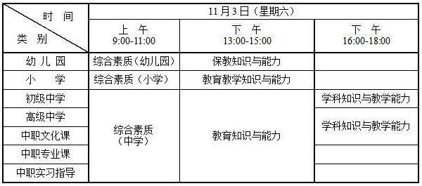 2018下半年河南省中小学教师资格考试笔试公告
