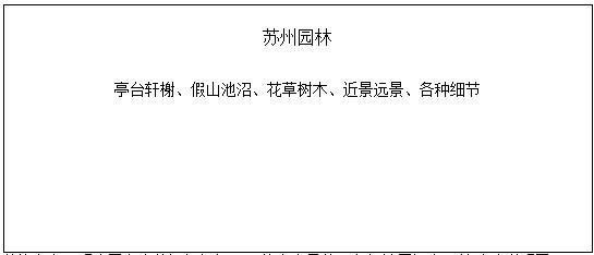 初中语文《苏州园林》说课稿